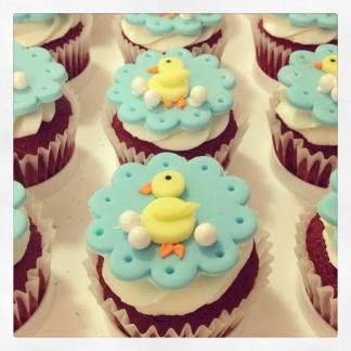dessert bar ducky cupcakes
