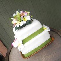 wedding cake hawaiin
