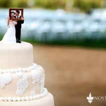 wedding lacy tan cake