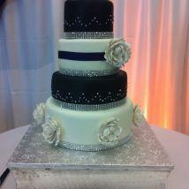 wedding purple cake