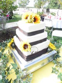wedding sunfowers