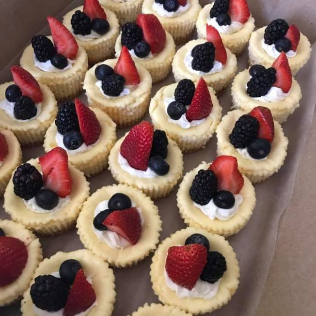 Buffet CHeesecakes